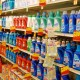 photo of laundry detergent in grocery store